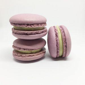 Honig-Lavendel Macaron