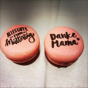 Bedruckte Macarons